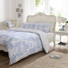 vantona kensington scroll blue duvet cover sets duvet cover sets