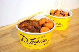 d laksa is a brand that is big just across the causeway we ve seen their outlets many times when we travel to kl and jb especially at sutera mall p