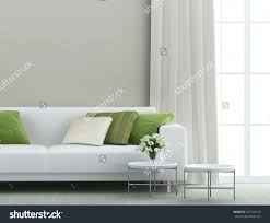 White Couch Living Room Beautiful Living Room White Sofa Stock Photo 162743195 Shutterstock