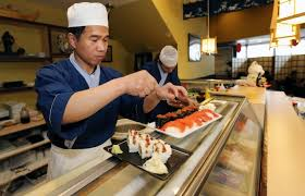 Sushi Cook Victoria Sushi Chef Knife In Hand Chases Customer Who Didn