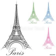 Fotografie Obraz Paris Eiffel Tower Icon Posterscz