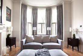 bay window curtain with victorian console tables living room victorian and  panelling