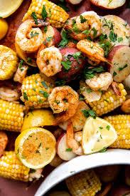 shrimp boil with garlic er