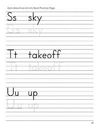 Letter S Tracing Worksheet Click To See Printable Version Of S T U