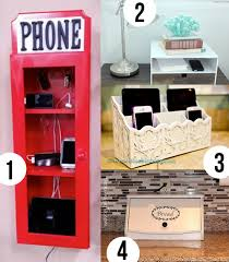 a place for electronic devices easy diy charging station