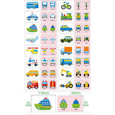 Us 4 56 32 Off New Baby Kids Educational Early Toys Cartoon Paper Educational Chart Card Vehicle Animals Fruit Daily Necessities Matching Game On