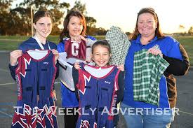 Association donates netball dresses - The Weekly Advertiser