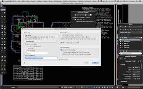 02 autocad for mac 2016 features data links the image shows a table linked