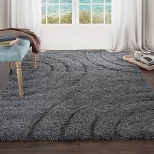 wade logan danil dark grey area rug reviews wayfair with rugs idea 0