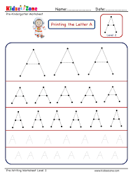 tracing worksheet diffe sizes