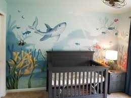 baby boy room nursery nursery mural