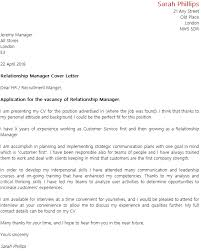 Relationship Manager Cover Letter Contemporary Art Websites Guest