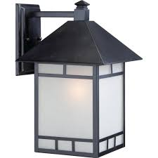 Nuvo Lighting 60 4909 Black Frosted Glass Lantern Hd Supply
