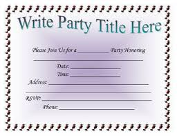 invitation for a party 26 free printable party invitation templates in word