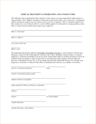 Medical Release Form For Grandparents Permission Letter For Grandparents To Take Child To Doctor Medical
