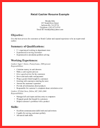 Resume Retail Skills Good Resume Format