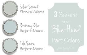 silver paint colorsThree Serene and BlueHued Paint Colors  Grace  Gumption