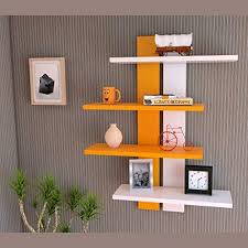 wooden wall shelves for living room and