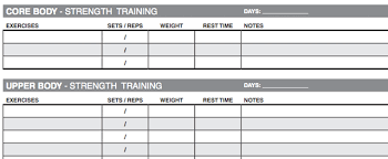 workout template excel 10 excel templates to track your health and fitness