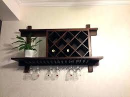 wall wine cabinet wall mounted wine glass rack shelf wall mounted wood wine rack hanging