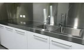 full size of custom stainless steel countertops with sinks sink tops uk used kitchen benches home