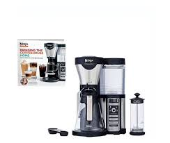 The ninja© coffee bar™ offers a number of ways to enjoy your coffee. Ninja Coffee Bar Coffee Maker With Glass Carafe And Auto Iq 100 Recipe Cook Book Cf080w Cbcf080