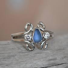 sea glass engagement ring banda1