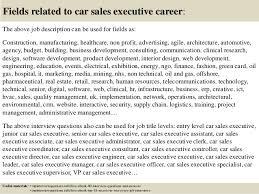 Sales Executive Job Description Top 10 Car Sales Executive Interview Questions And Answers