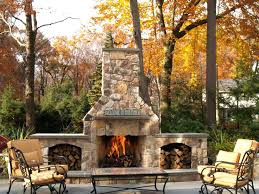 modern outdoor patio fireplace design ideas stone build stacked backyard
