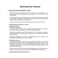 Business Brief Example Printable Marketing Plan Template Brief Example Document Idea