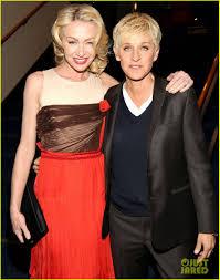 Ellen And Portia Ellen Degeneres Portia De Rossi Peoples Choice Awards 2012