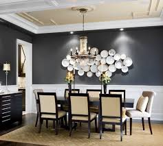 Dining room accent wall 1 - with decorative plates