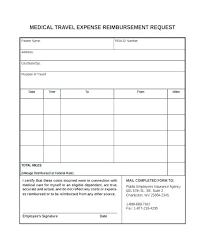 Expense Reimbursement Form Templates Reimbursement Claim Form Template Travel Expense