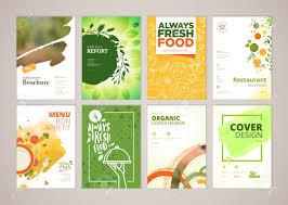 Flyer Design Food Set Of Restaurant Menu Brochure Flyer Design Templates In A4