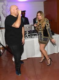living group london miami  miami fl november  fat joe and loren ridinger attend haute living celebrates