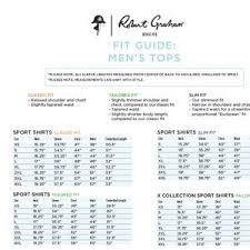 Robert Graham Size Chart