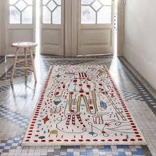 jaime hayon creates surreal sketches for nanimarquina s 30th anniversary rugs