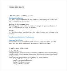 Wedding Ceremony Program Template Free Download 26 Wedding Ceremony Program Templates Psd Ai Indesign Pdf Doc