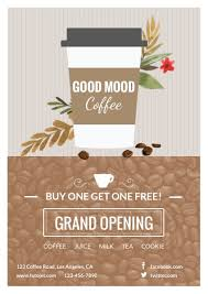 bar grand opening flyer cafe grand opening flyer template template fotojet