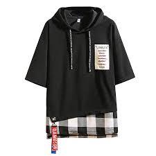 Lailailaily <b>Summer Fashion Men's</b> Printing Hoodie Loose <b>T</b>-<b>Shirts</b> ...