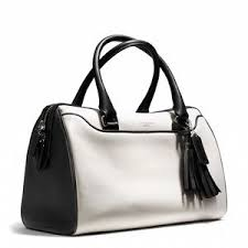 COACH Legacy two-tone leather Haley satchel