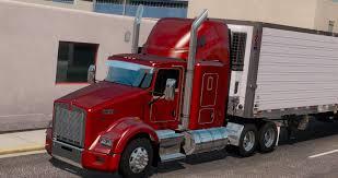 Kenworth T800 Interior Lights Ats Kenworth T600 T660 T800 Truck V2 1 1 36 X American