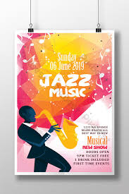 Free Music Poster Templates Music Vibes Concert Poster Templates Template Psd Free