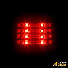 lego lighting. LED Strip Lights - Red (4 Pack) Lego Lighting