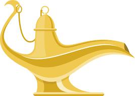 Genie Aladdin Vector Magic Lamp Png Download 54543865 Free
