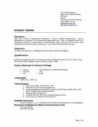 Correct Format For A Resume 43 Images Proper Resume Format