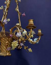 home chandeliers see all french six branch gilt and sèvres style porcelain chandelier