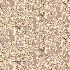 Vintage Wallpaper Seamless Pattern ...