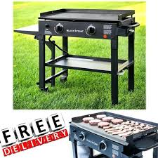 propane griddle outdoor gas grill flat top 2 burner portable stainless steel new vs best combo canada