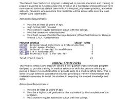 Patient Care Technician Job Description For Resume Lovely Senior